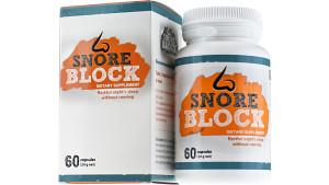 Tabletki na chrapanie Snore Block ™